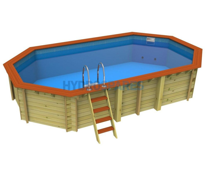 Swimming pool above ground pools wooden pools - Diy above ground pool ...