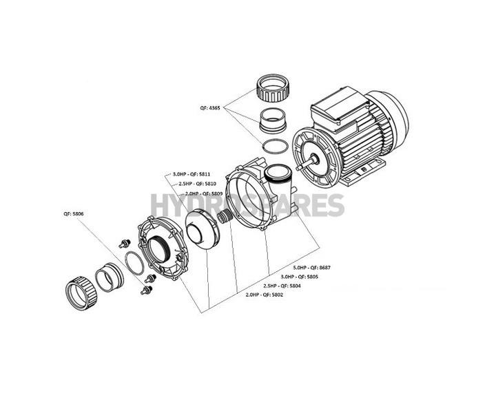 LX WP Pump Series - Spares