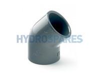 PVC Equal Elbow 45°