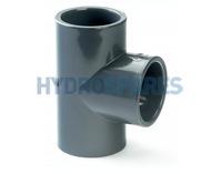 1-1/2 Inch PVC Tee - Equal