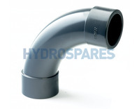 32mm PVC Swept Elbow 90° - Equal