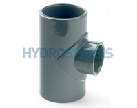 50mm PVC Tee - Reducing To 32mm