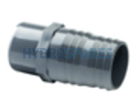 2-00 Inch PVC Hose Adaptor - Barbed
