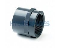 """32mm x 1"""" PVC Adaptor - Plain x Threaded Socket"""