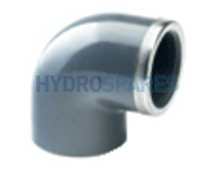 PVC Elbow 90° Equal - Reinforced SS