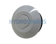 HydroAir Air Button - White 64mm Ø