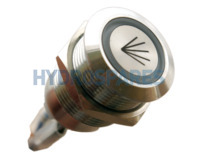 HydroAir Single Function LED Button - 22mmØ