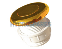 Hydrospares Air Button - Gold 51mm Ø