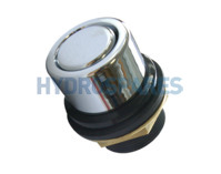 Hydrospares Air Button - Chrome Metal 40mm Ø