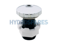 HydroAir Air Intake Control - Chrome Slimline - Min-Max Indicator