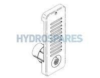 Hydroair Standard Skimmer White