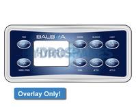 Balboa VL801D Overlay Only - 10763