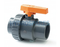 PVC Ball Valve - Single Union 1.0""