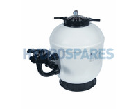 "Superpool SMG650 Side Mount Sand Filter - 25"" Tank"