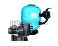 Lacron Side Mount Filter & Lacronite 0.5HP Pump