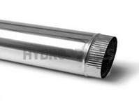 Stainless Steel Flue Single Wall - Half Meter Length