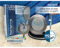 Ultra Flat LED Pool Light - 10 Watt - Warm White ***REDUCED TO CLEAR***