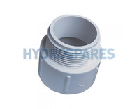 "1-1/2""  Threaded Socket Nipple - ABS"