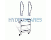 Stainless Steel Undercover Ladders inc Grab Rails