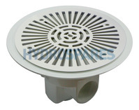 ABS - Circular Main Drain with Grille