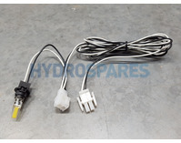 Splash-Tec Bulb Harness + AMP Plug + Link & LED (white)