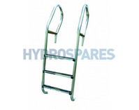 "Certikin 1.7"" Club Bar Ladder - 3 Tread"