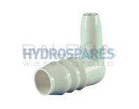 PVC Elbow 90° Barbed