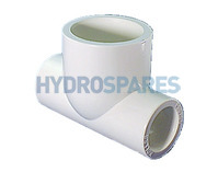 20mm PVC Tee - Reducing To 32mm