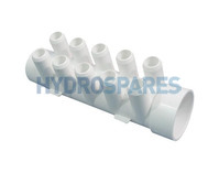 Waterway PVC Smart Plumb Manifold - Street 10 Barb