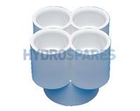 Distributer 4 Fold PVC Plain