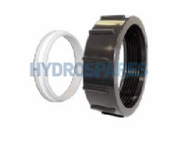 HydroQuip Heater Union Nut + Retainer  3.00""