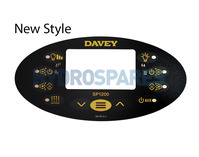 SpaQuip / Davey SP1200 Overlay Only