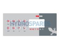 Gecko Overlay - TSC-8 GE1 (8K)