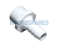 "PVC Barbed Adapter - 1"" Spigot"