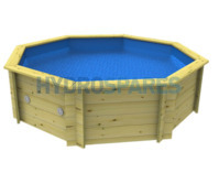 8 ft Wooden Octagonal Fun Pool DIY Kit (2606 Litres)