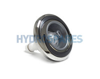 """CMP Halo Double Roto LED Jet - 3"""" - Stainless/Graphite Gray"""