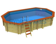 Bayswater - DIY Above Ground Wooden Swimming Pool Kit