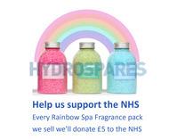 Rainbow Hot Tub Aroma Salts (3 x 630g)