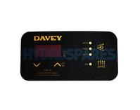 SpaQuip / Davey SP600/601 Overlay