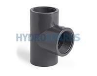 20mm PVC Tee - Threaded