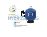 "Triton NEO ClearPro - Side Mount Sand Filter 24"" Tank"