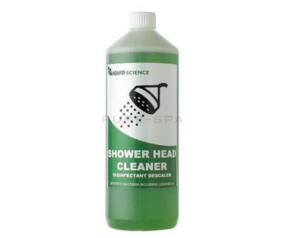 Shower head cleaner, descaler & disinfectant 1L