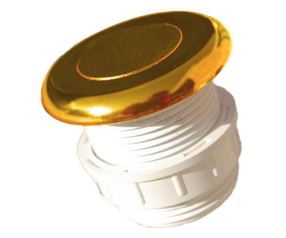 Hydrospares Air Button - Gold 51mm Ø