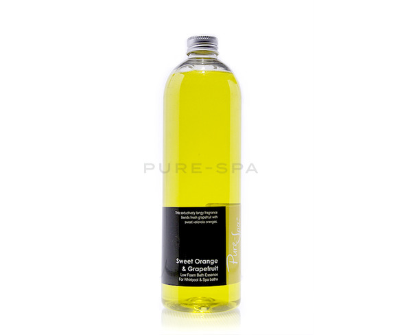 Pure-Spa Low Foam Bath Essence - Sweet Orange & Grapefruit
