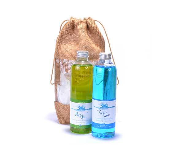 Pure-Spa Twin Fine Bath Fragrance Gift Bag
