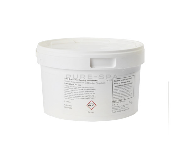 Pure-Spa Cartridge Filter Cleaner Powder - MAX