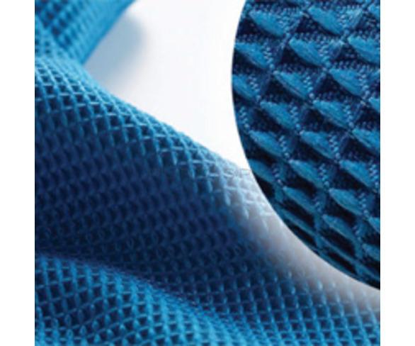 Waffle Microfibre Cloth - Blue
