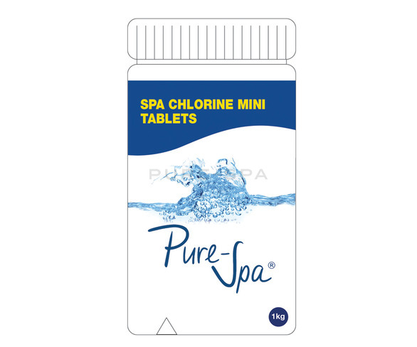Pure-Spa - Spa Chlorine Tablets (Trichlor)