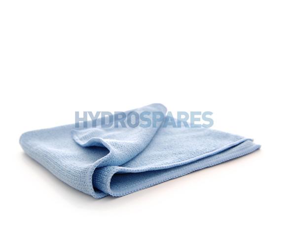 Pure-Spa Basics Microfibre Cleaning Cloth - Blue