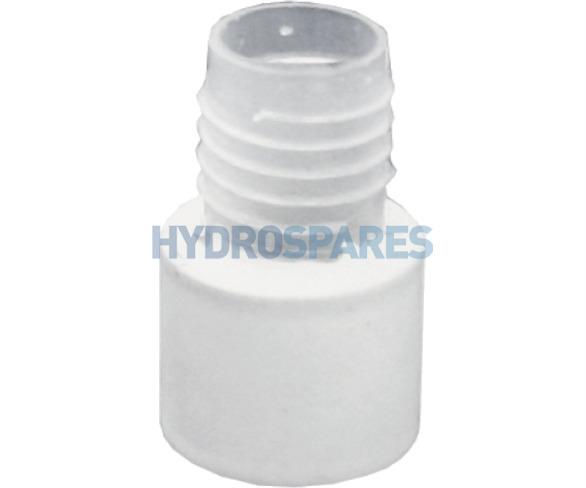 HydroAir Hose Cuff - Rubber Socket x Threaded Spigot